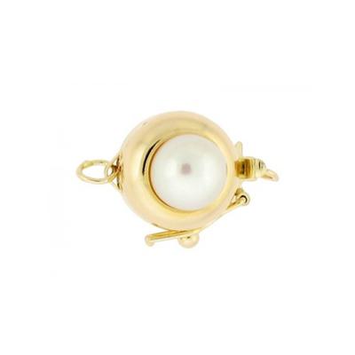 Custom Gold & Pearl Bracelet baby bracelets, gold baby bracelets