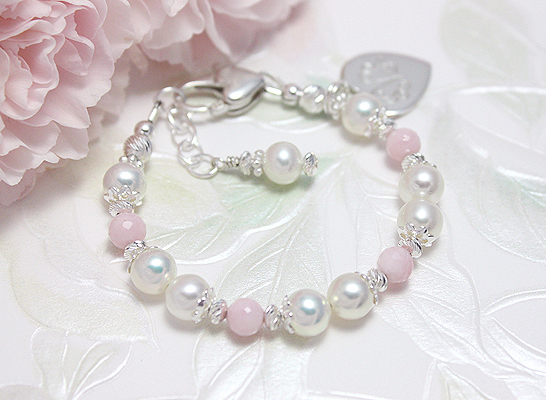 Delightful Pink baby bracelet.