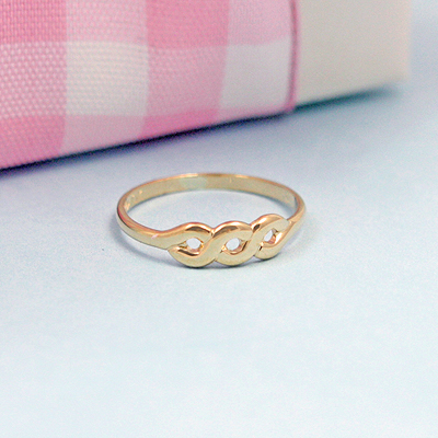 10kt Gold Toddler Rings