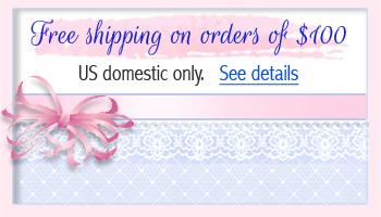 Information on free shipping for baby rings.