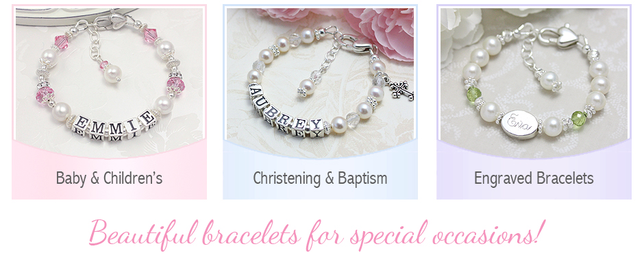 Special bracelets for babies and children