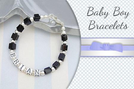 Baby boy bracelets