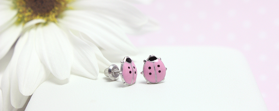 Baby and toddler earrings