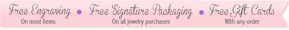 free engraving, free packaging banner