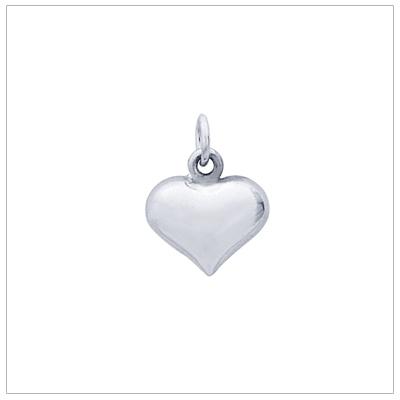 Puffed Heart Charm