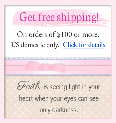 Free shipping for jewelry orders over one hundred dollars.