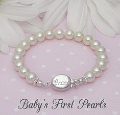 Engraved Baby Bracelets · Christening Bracelets
