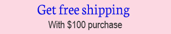 free shipping with one hundred dollar purchase