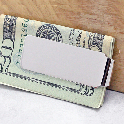 Sterling Silver Money Clip - 1749