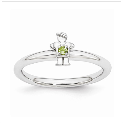 Stackable Mothers Rings Boy, Aug