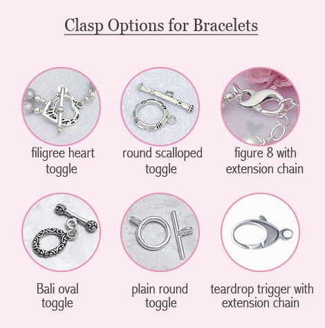 clasp options