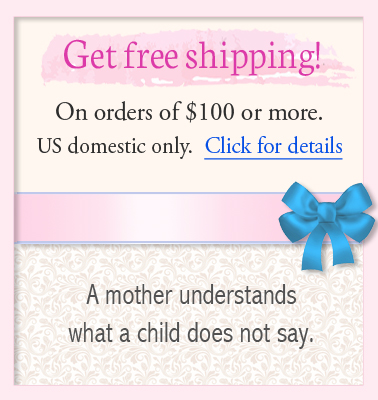 Free shipping on mothers bracelet orders over one hundred dollars.