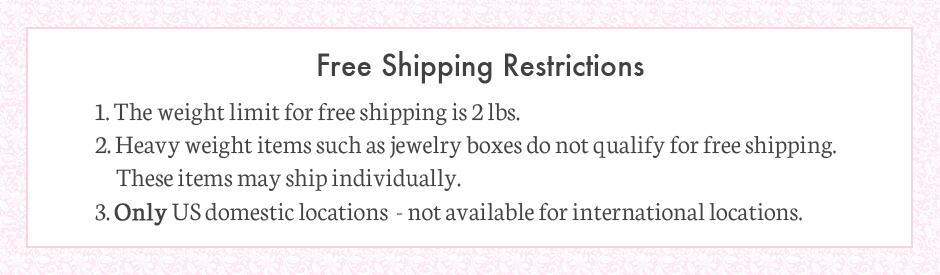 Free shipping restrictions