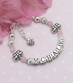flutterbye name bracelet