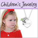 Personalized Mothers jewelry, children's jewelry, and Christening Gifts