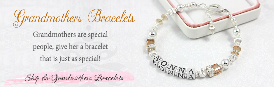 Shop for grandmothers bracelets in our elegant selection of quality bracelets personalized for grandmothers.