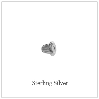 Sterling Screw Back Replacements