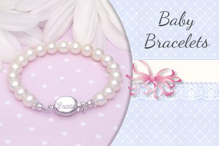 Baby and infant bracelets