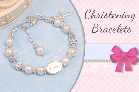 Christening and Baptism bracelets