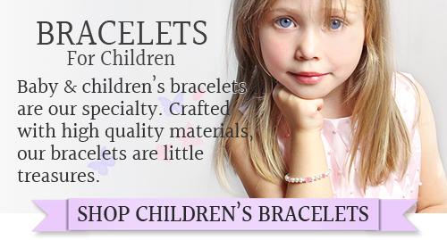 Customer favorite children's bracelets in pearls, sterling and 14kt gold.