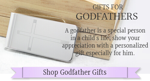 Handsome gifts for godfathers with personalized engraving.