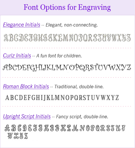 fonts for engraving