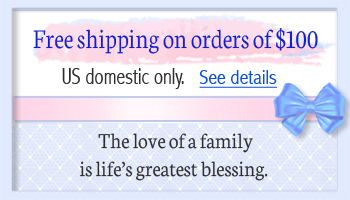 Free shipping for mothers necklace orders over one hundred dollars.