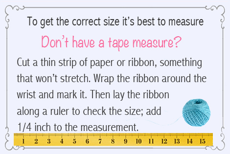 bracelet sizing tip