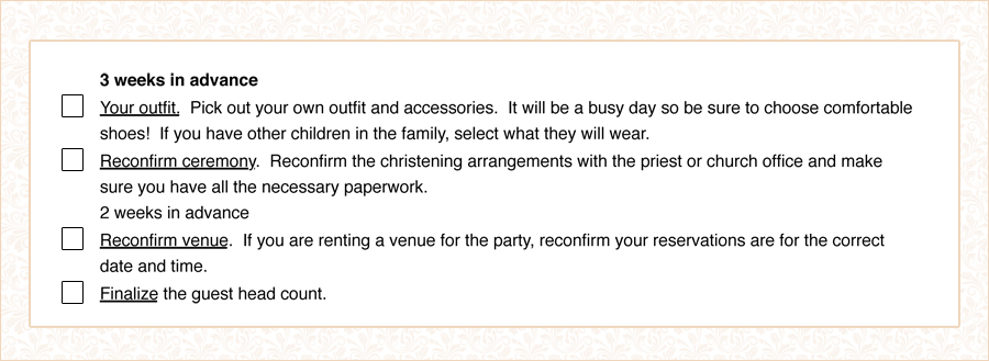 christening info box 3