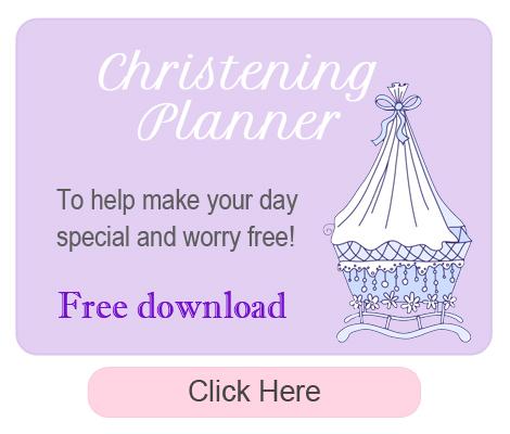 christening planner