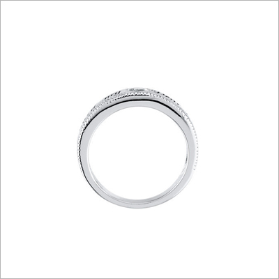 Christian ring for older girls and teens with 'Guard My Heart' inscription.