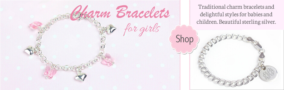 Shop for charm bracelets for toddlers, children, and teens.