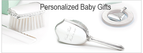 Sterling silver heirloom engraved baby gifts.